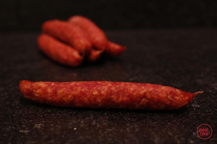 Pikante droge worst - Meattime