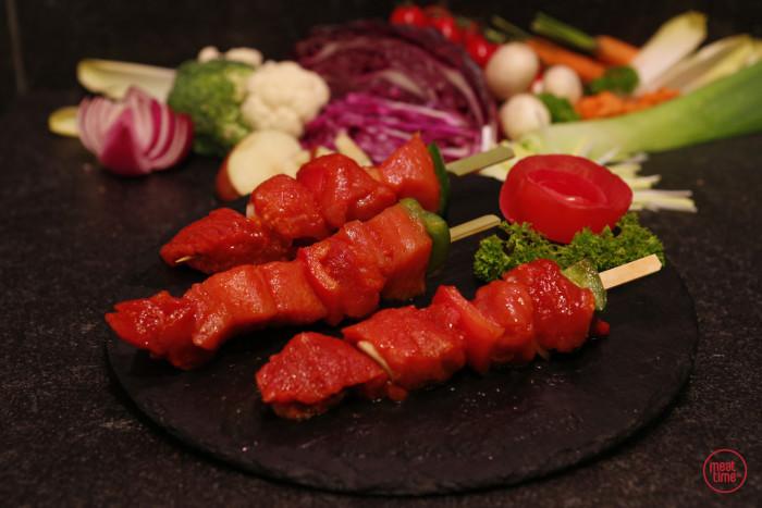 varkensbrochette (4 st. vlees) - Meattime