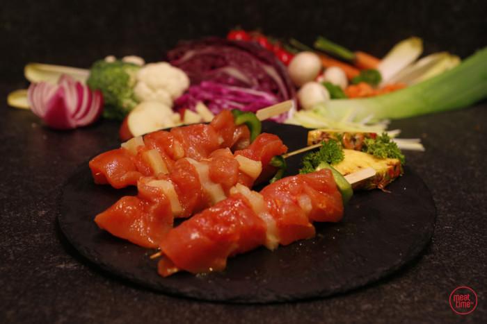 kalkoenbrochette (4 st. vlees) - Meattime