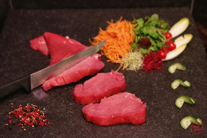 gepeld biefstuk wit-blauw ras - Meattime