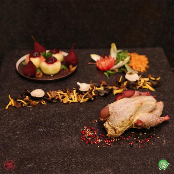 Parelhoen - Meattime