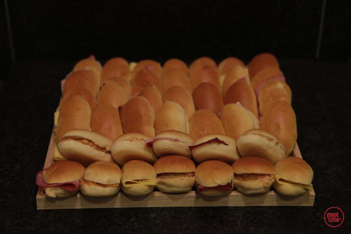 verrassingsbrood mini-sandwiches  - Meattime
