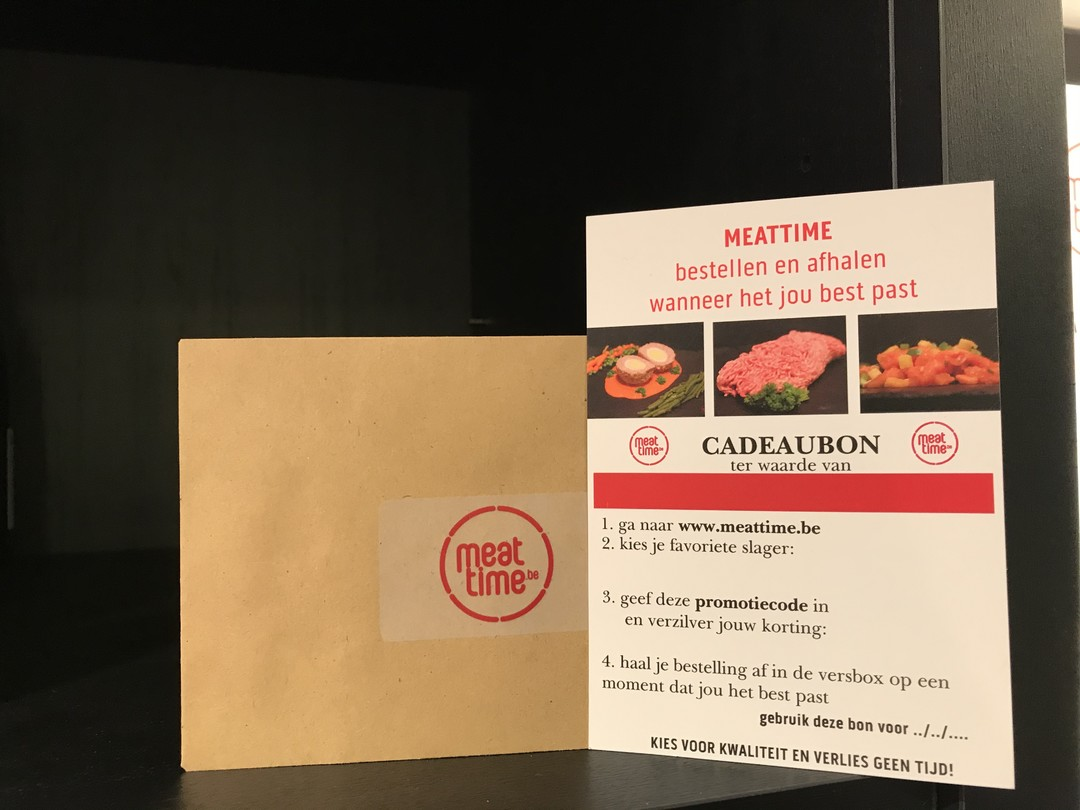 Cadeaukaart Meattime € 10 - Meattime