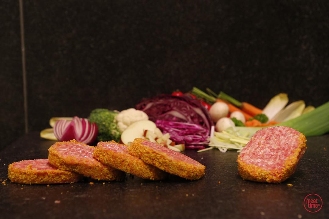 mini-ajuinburgers 6 stuks - Meattime