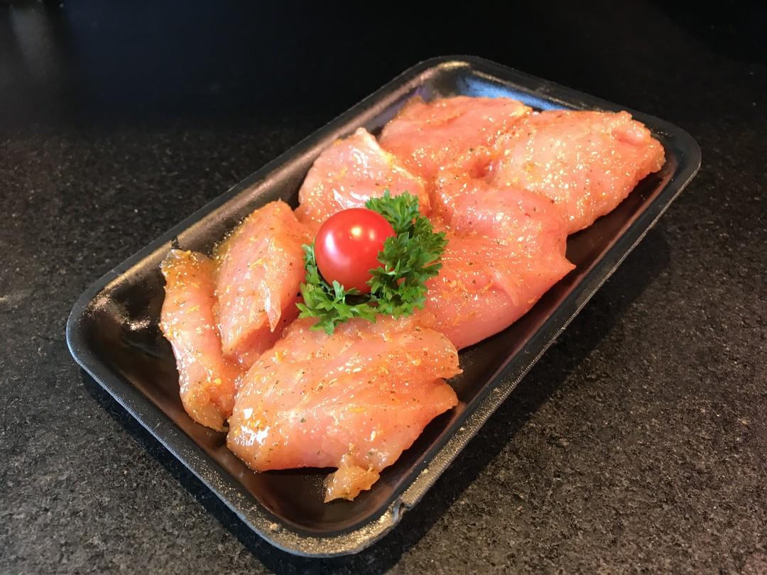 mini gemarineerde kalkoenfilet 6 stuks - Meattime