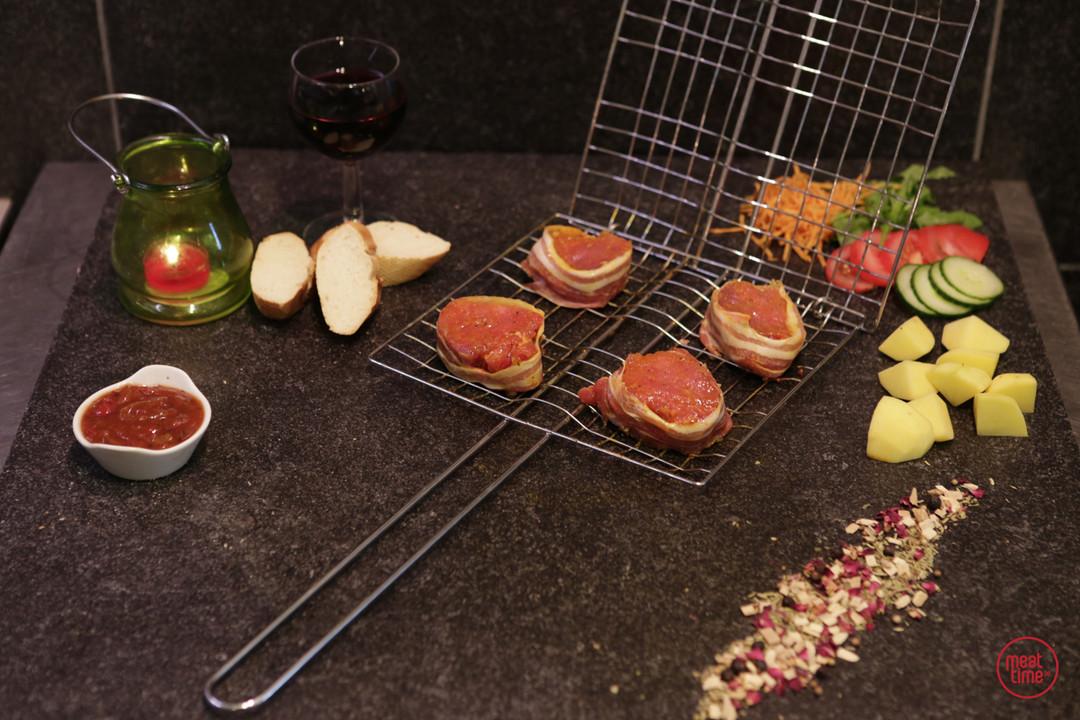 mini gemarineerd varkenshaasje 6 stuks - Meattime