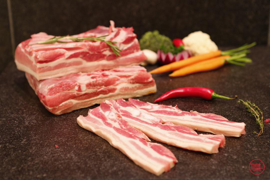 mini gemarineerd buikspek  6 stuks - Meattime