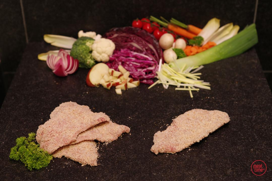 mini kalfsschnitsel 6 stuks - Meattime