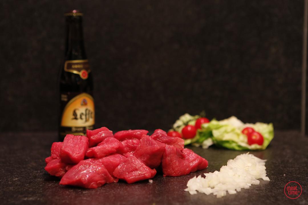 fondueblokjes runds 250 gr - Meattime