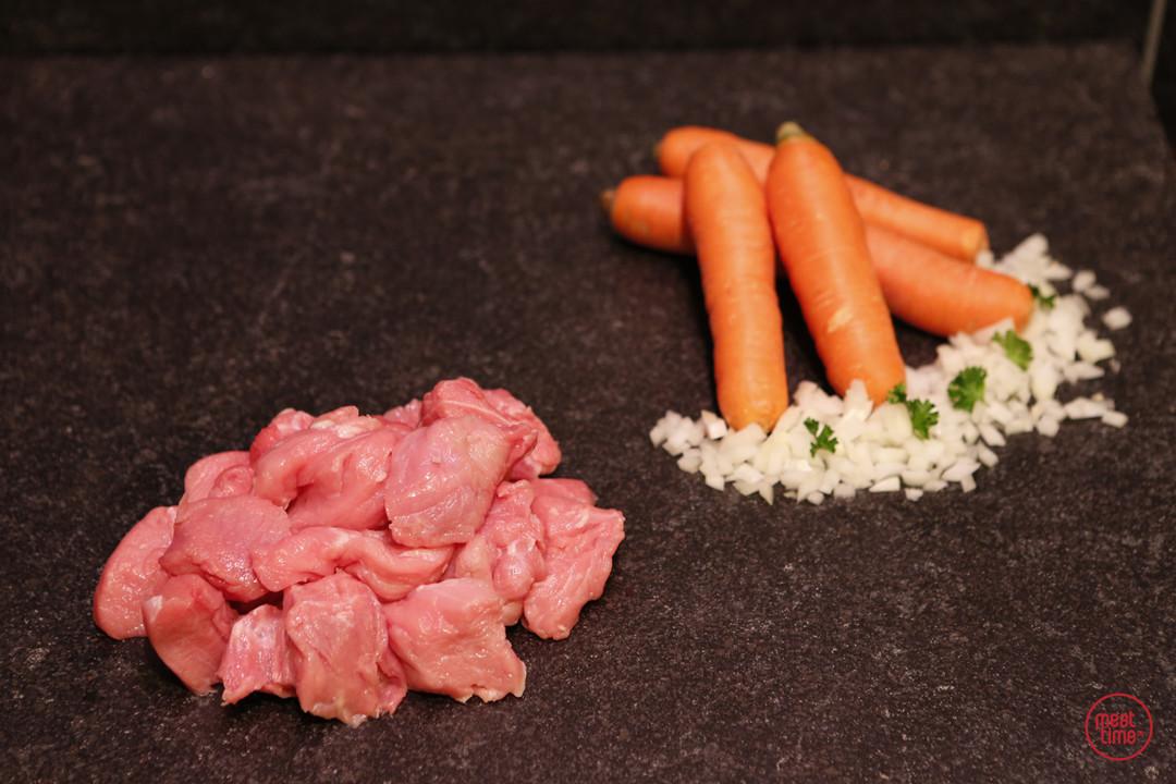 fondueblokjes varkensvlees 250 gr - Meattime