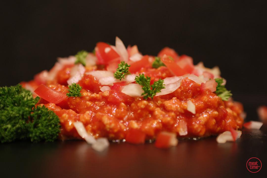 Vegetarische spaghettisaus - Meattime