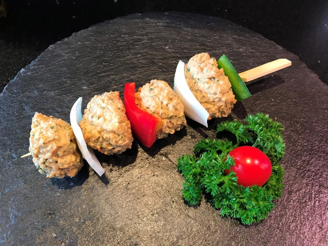 Vegetarische brochette - Meattime