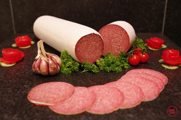 salami met look huisbereid - Meattime