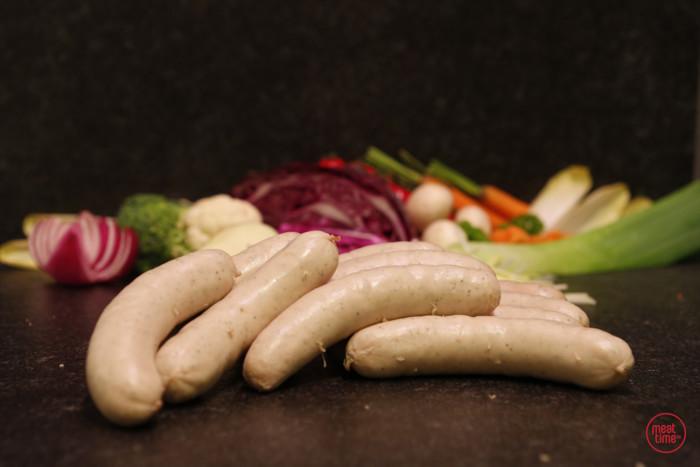 witte worst huisbereid - Meattime