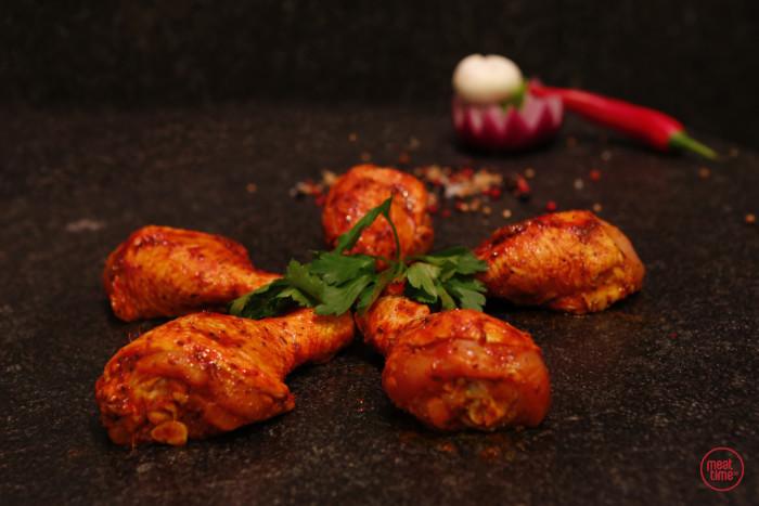 gemarineerde kippeboutjes - Meattime
