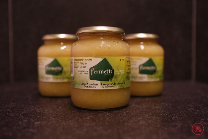 appelmoes gezeefd 370 ml - Meattime