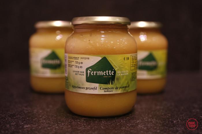 appelmoes gezeefd 720 ml - Meattime