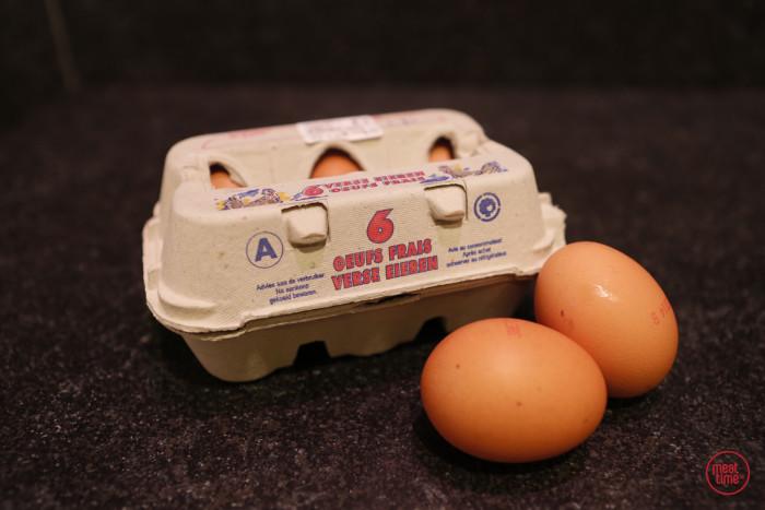 verse eieren 6 stuks - Meattime