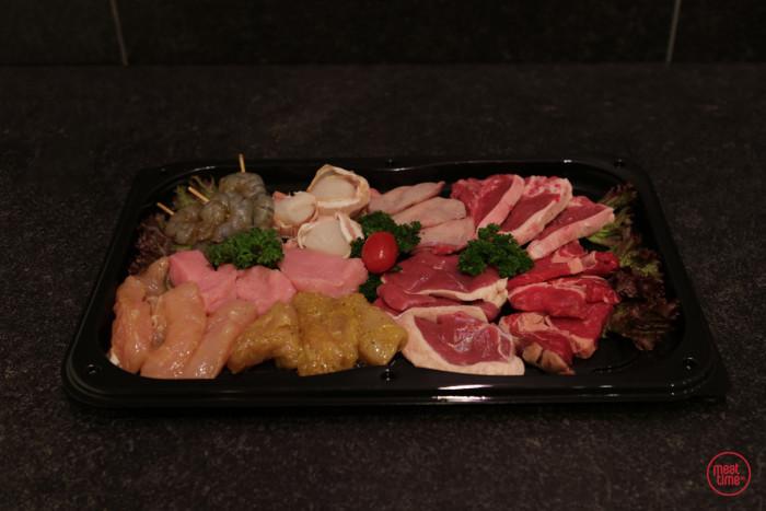 steengril/teppanyaki de luxe - Meattime