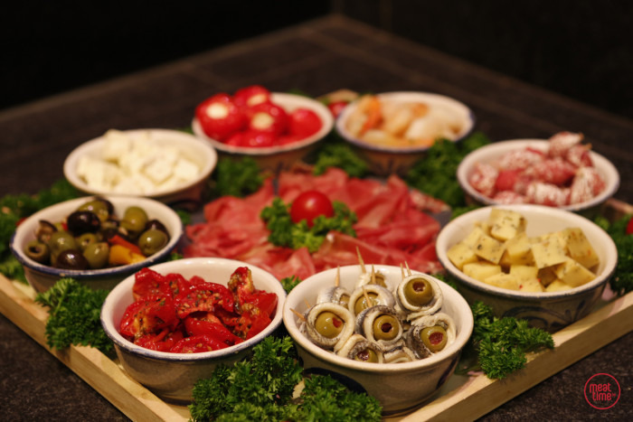 Tapasschotel de luxe 4-7 pers - Meattime