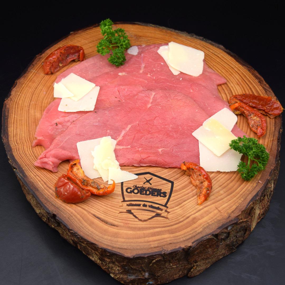 Carpaccio sur assiette (+- 100gr) - Meattime