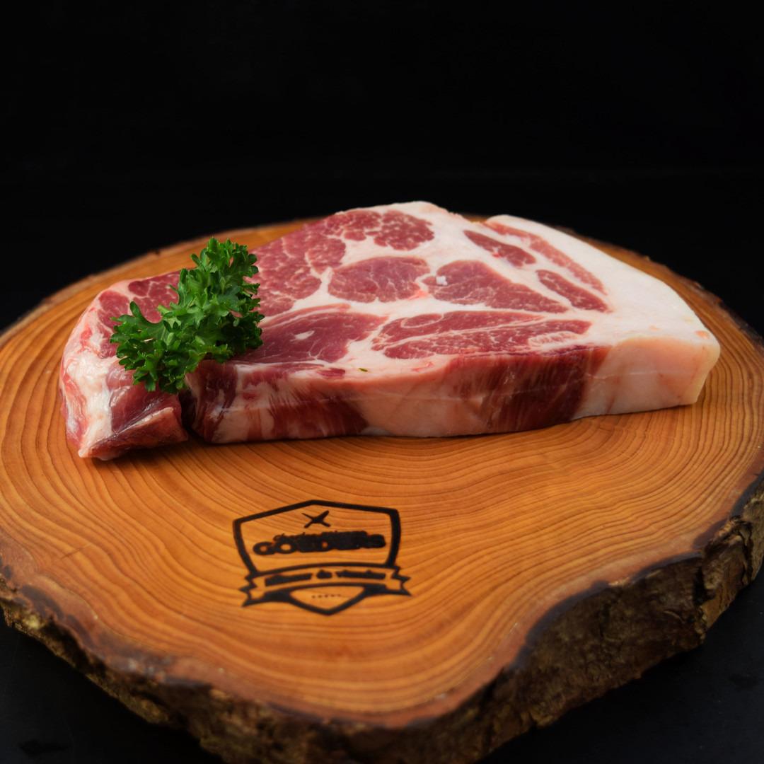 Spierling de Porc sur paille +-250gr - Meattime