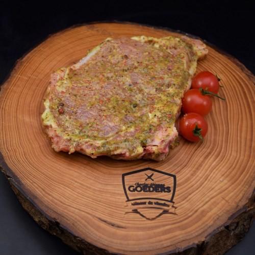 Côte de veau au trois poivres +-350gr - Meattime