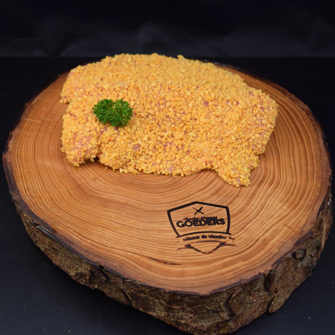 Sauté de veau pané élevé sous la mère +-180gr - Meattime