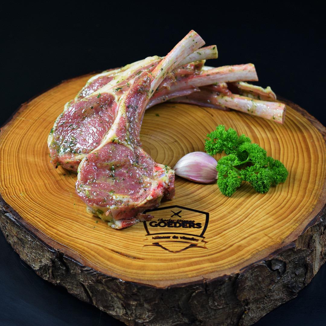 Cote d'agneau à l'ail belge +-100gr - Meattime