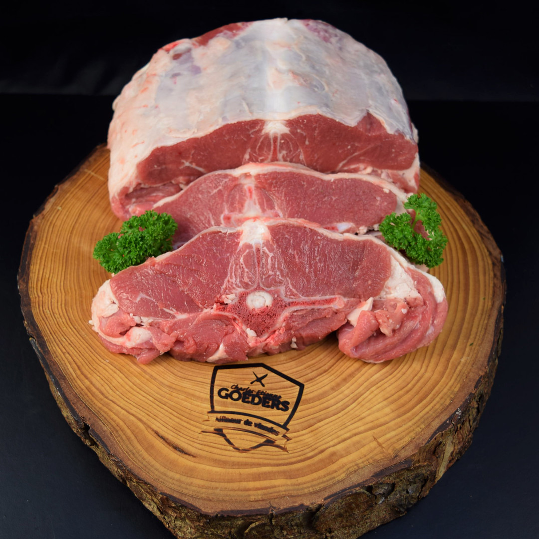 Cote d'agneau au filet belge +-100gr - Meattime