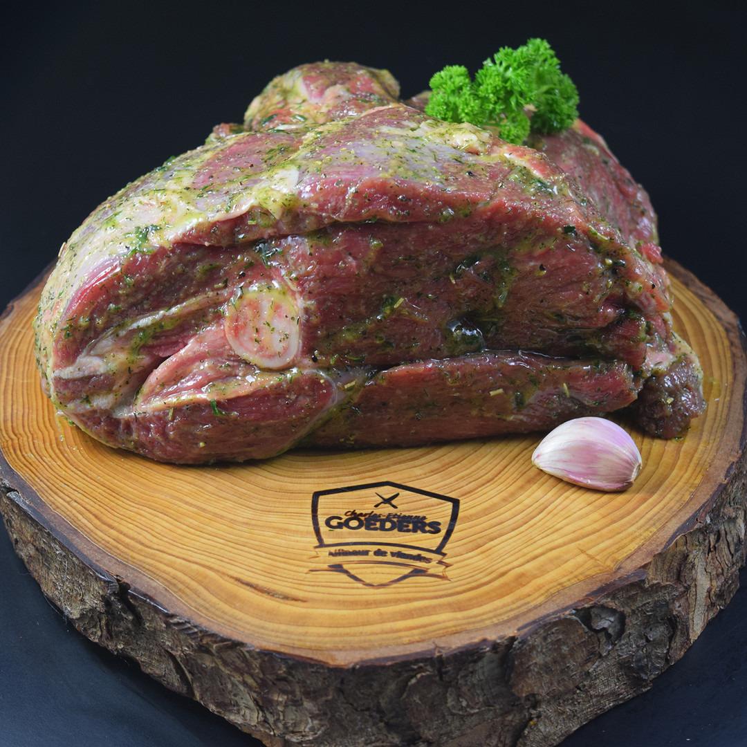 Gigot d'agneau à l'ail Belge - Meattime