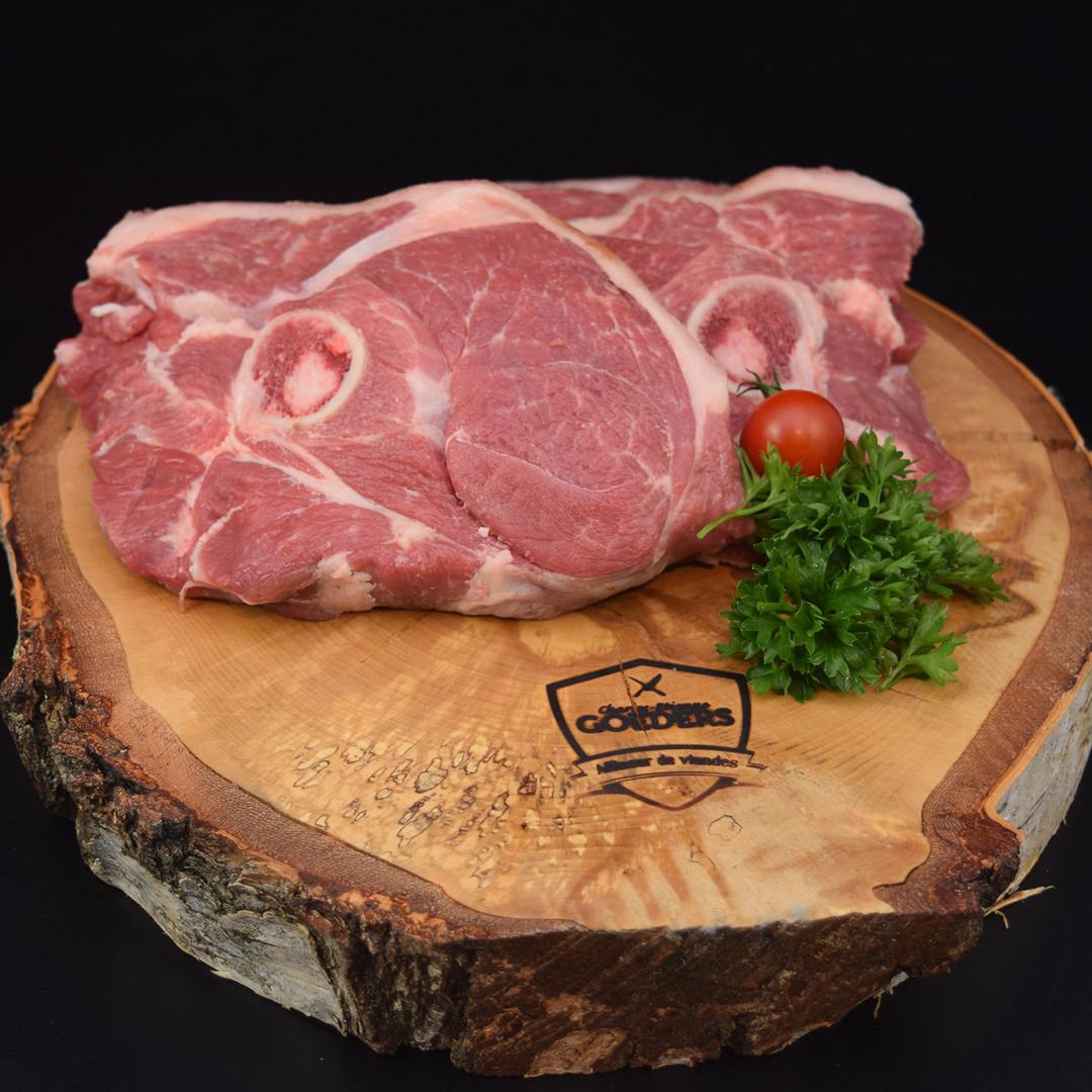 Tranche de gigot d'agneau belge +-200gr - Meattime