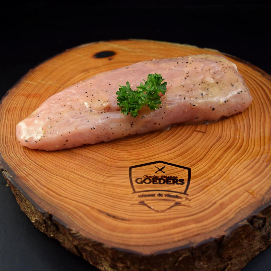 Blanc de poulet fermier mariné - Meattime