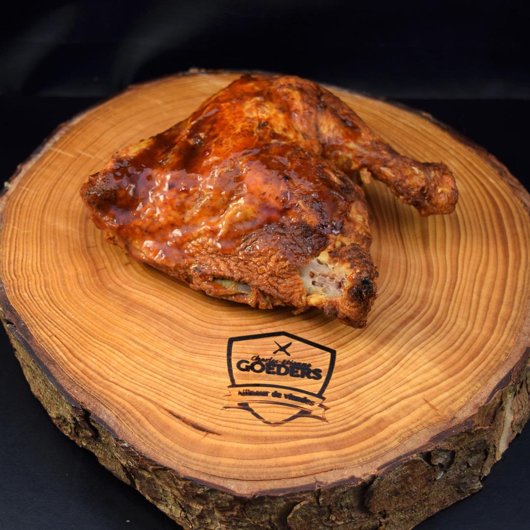 Cuisse de poulet rotie +-250gr - Meattime