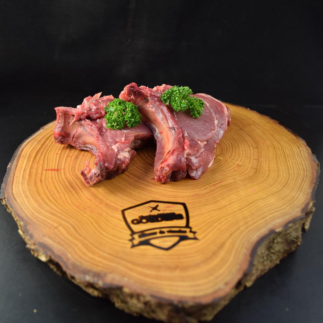 Côte coupée de marcassin (+-150gr) - Meattime