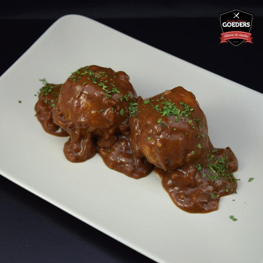 Boulette sauce chasseur  - Meattime