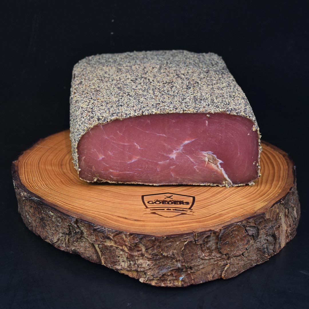 Filet d'Ardenne au poivre - Meattime