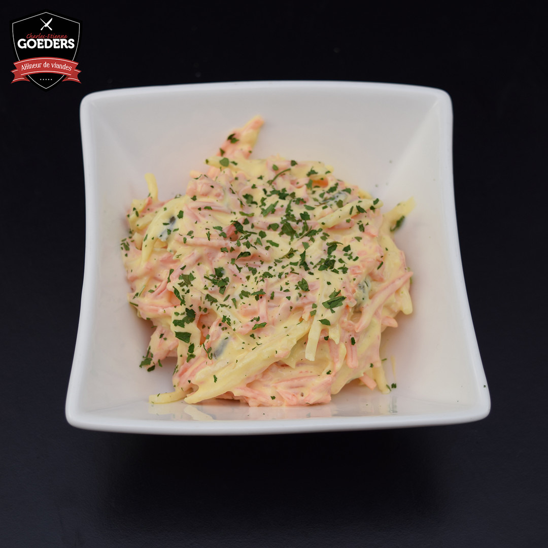 Salade de crudités au yaourt - Meattime