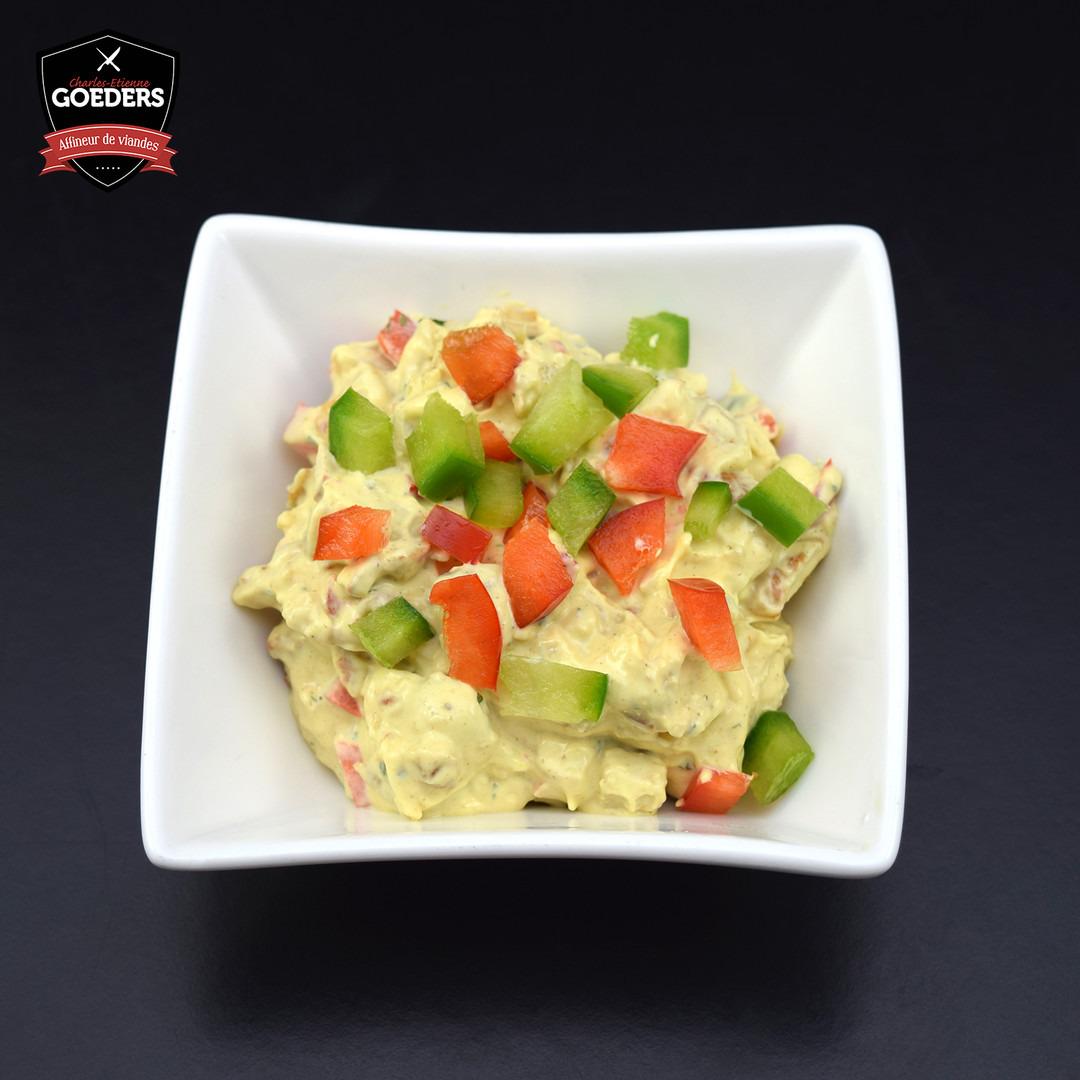 Salade de poulet curry - Meattime