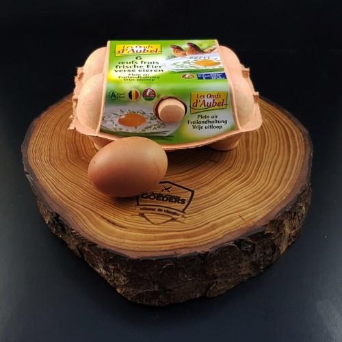 Œufs de poule élevée en plein air (6pc) - Meattime