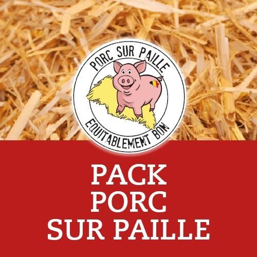 Colis de Porc sur Paille - 1/4 de cochon - Meattime