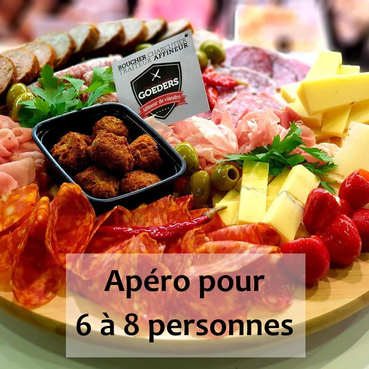 Formule apéro pour 6 à 8 personnes - Meattime