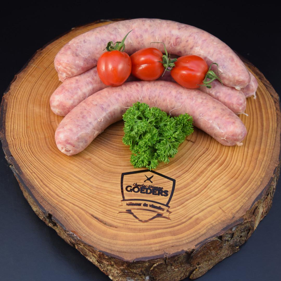 Saucisse fraîche +/-110gr - Meattime