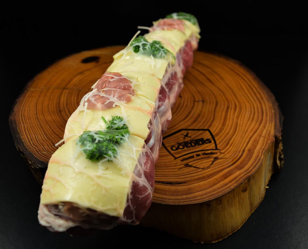 Filet de porc Orloff savoyard +/-650gr - Meattime