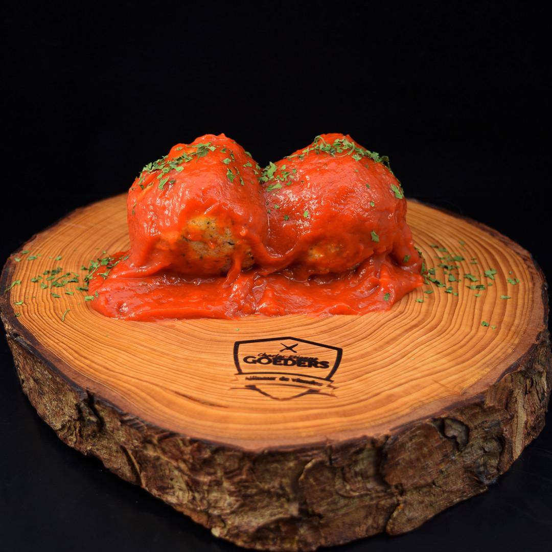 Boulettes sauce tomate et purée (500gr) - Meattime