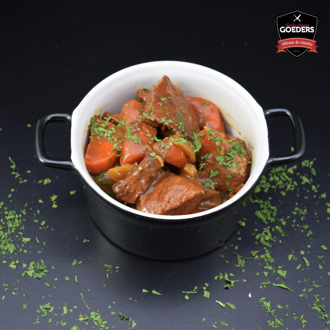 Carbonnades de boeuf et purée (500gr) - Meattime
