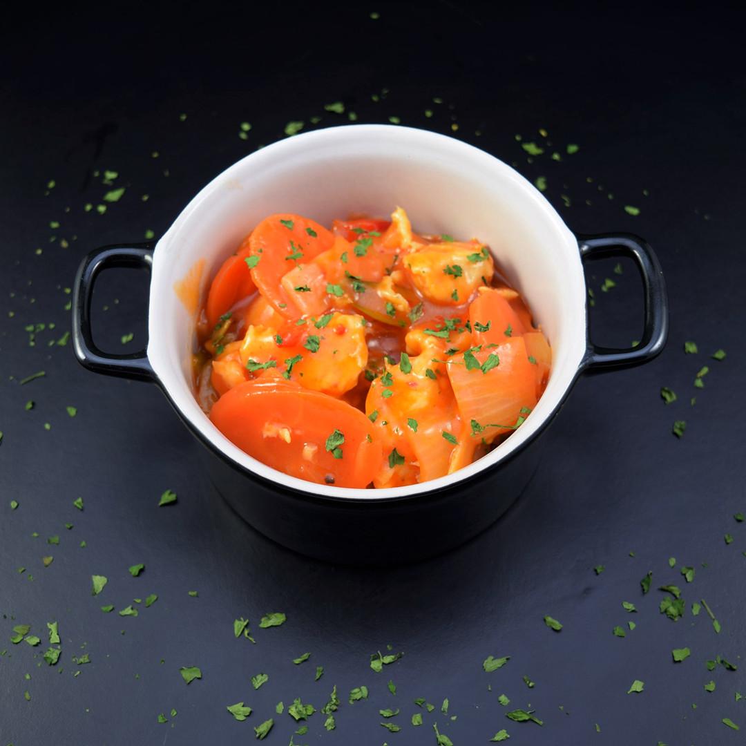 Poulet aigre doux et riz (500gr) - Meattime