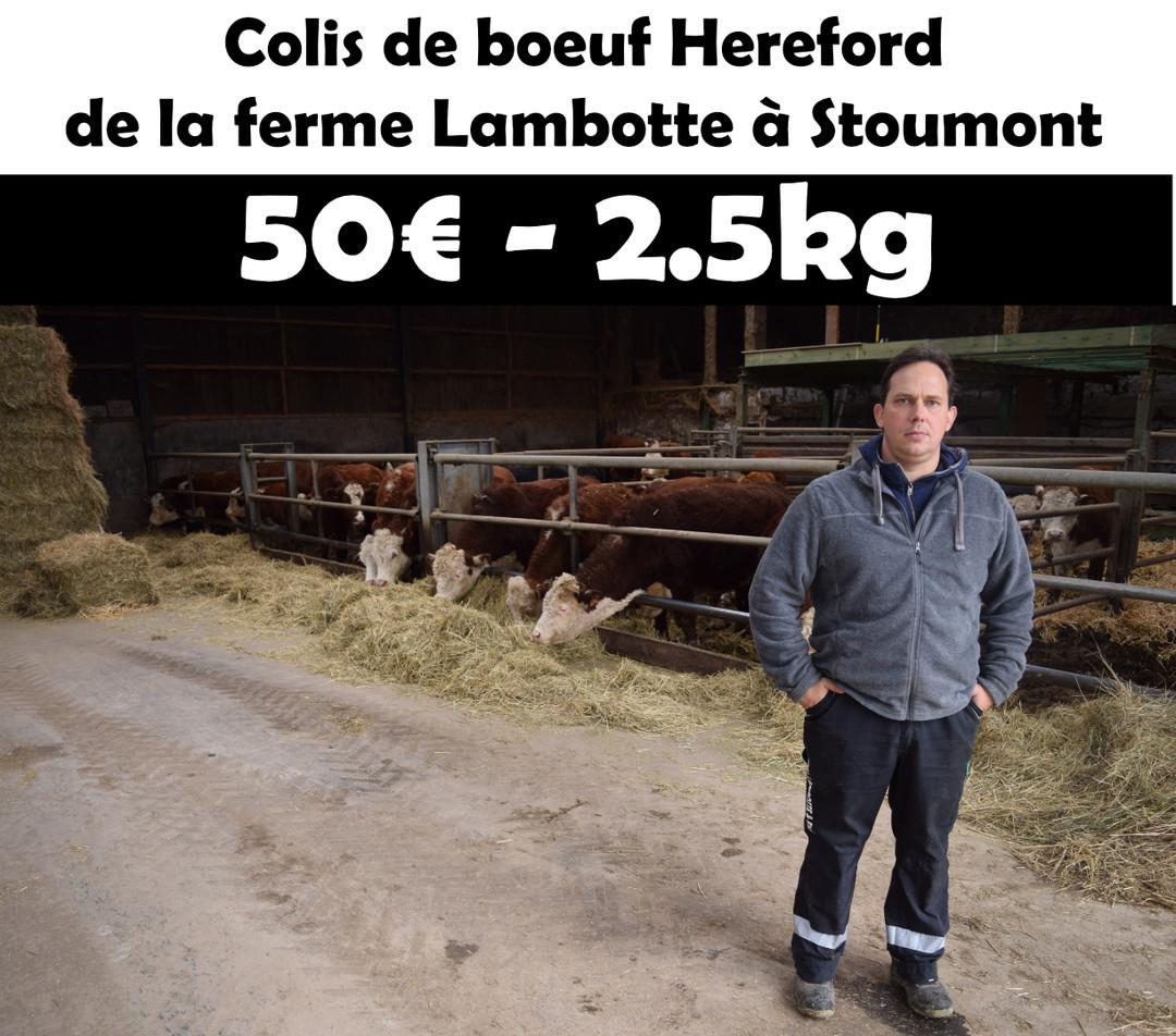Pack de Hereford (2kg500) - Meattime